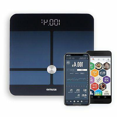 smart weight and body fat bluetooth digital