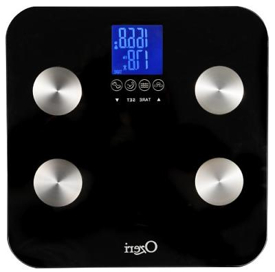 Ozeri Touch 440 lbs Total Body Bath Scale � Measures Weigh