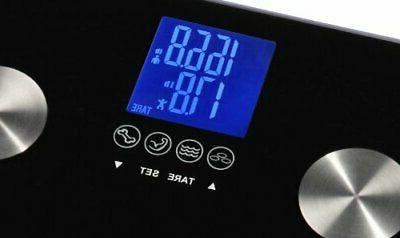 Ozeri 440 lbs Total Bath – Measures Weight, Muscle,
