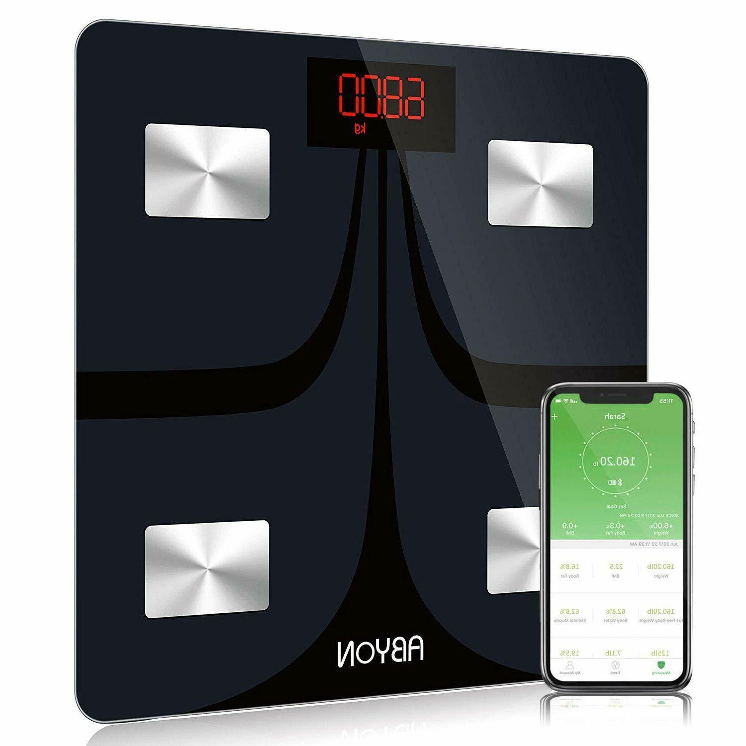upgraded 2019 bluetooth smart weight scales digital