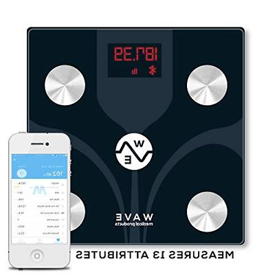 WAVE Bluetooth Body Fat Scale Smart BMI Digital Wireless Bat