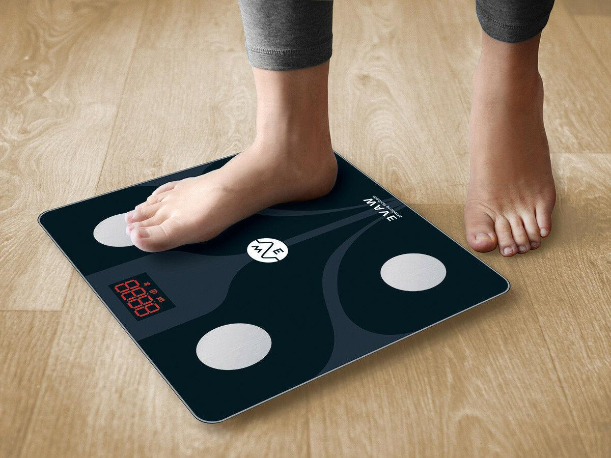 WAVE MEDICAL Smart Body Scale Smartphone