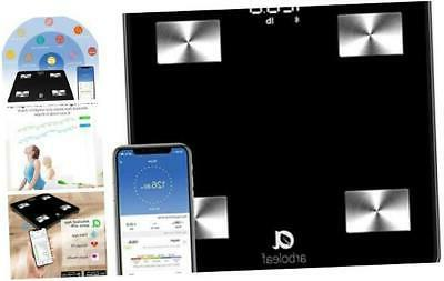 weight scale smart scale bluetooth body fat