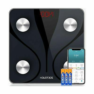 zoetouch bluetooth fat scale