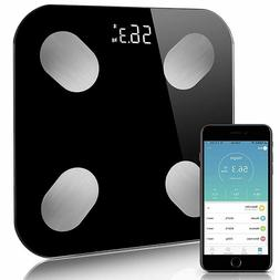 LED Digital Body Fat Scale Floor Bluetooth Electronic Weight