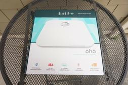 NEW Fitbit Aria Wi-Fi Smart Scale Weight BMI Body Fat % Wire