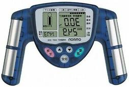 NEW omron HBF-306-A body fat meter Composition & Scale blue