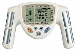 Omron body fat meter HBF-306-W White Genuine from Japan