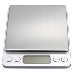 LCD Digital Jewelry Pocket Scale Weight 500g x 0.01g Balance