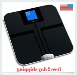 EatSmart Precision Getfit Digital Body Fat Scale Auto Recogn