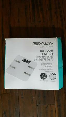 Visage Pro Style Body Fat Scale