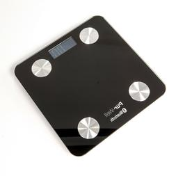 Pur-Well Living Body Fat Bluetooth Bathroom Scale Weight Los