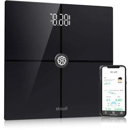 Rollifit Premium Smart Scale - Body Fat Scale with Fitness A