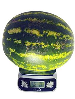 Salubre Digital Kitchen Food Scale - Weigh In Ounces, Grams,
