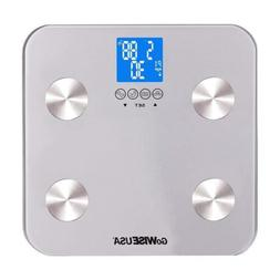 GoWISE USA Digital Body Scale Measure Body Fat, Muscle, Wate
