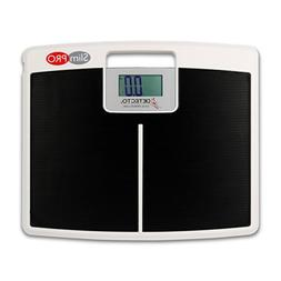 Detecto SlimPro Portable Electronic Home Bath Weigh Scale