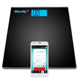 Pyle Smart Bathroom Scale Bluetooth - iPhone Health Devices,