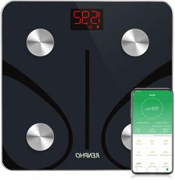 Smart Bluetooth Digital Body Fat Weight Scale, BMI with Smar