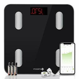 Etekcity Smart Bluetooth Body Fat Scale, Digital Bathroom We