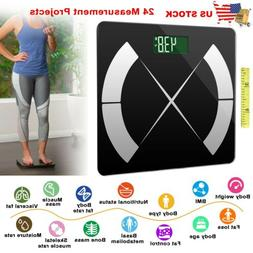 Smart Body Composition Fat Monitor Scale Digital Bathroom Sc