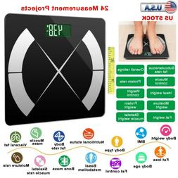 Smart Body Fat Weight Scale Health Composition Monitor APP B