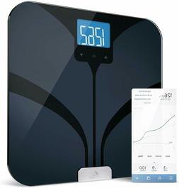 Greater Goods Smart Connected Body Fat Bathroom Black LCD Sc