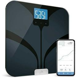Greater Goods Smart Connected Body Fat Bathroom Scale BLACK