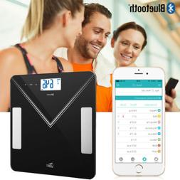 Smart Digital Bathroom Scale Body Fat Weight Scale Bluetooth