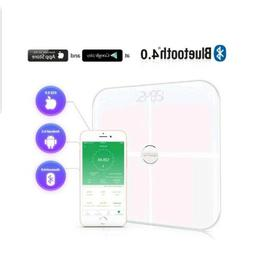 RENPHO Smart Heart Rate Body Fat Scale Bluetooth Digital Bat