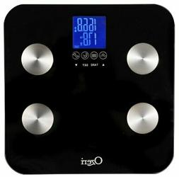 Ozeri Touch 440 lbs Total Body Bath Scale – Measures Weigh