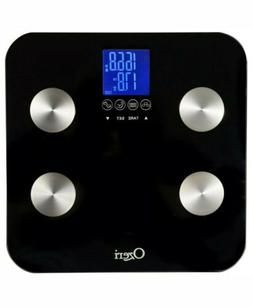 Ozeri Touch 440 lb Digital Bath Scale - Measures Weight, Bod