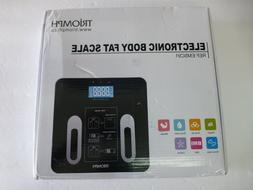 triomph precision body fat scale with backlit