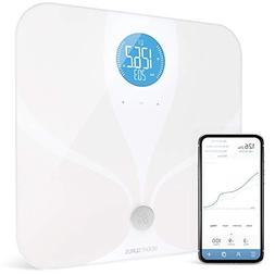 WiFi Smart Body Fat Bathroom Scale by GreaterGoods, Smart an