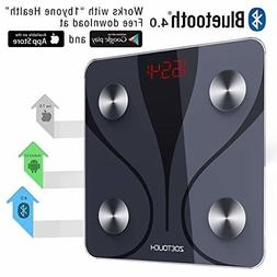 Wireless Smart Digital Bathroom Bluetooth Body Fat Scale wit