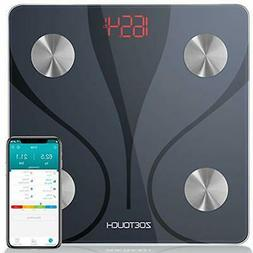 ZOETOUCH Body Fat Scale with   Android App, Smart BMI Scale
