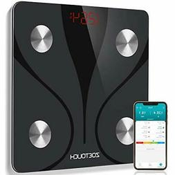 ZOETOUCH Scales for Body Weight Digital Bathroom Scale Smart